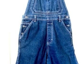 Vintage CK overalls, carpenter overalls, bib overalls, 70s overalls, womans overalls, blue denim overalls, calvin klein overalls, CK jeans
