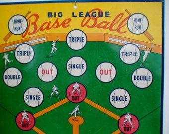 Electro Safe T Dart No. 110 Magnetic and Big League Baseball Metal Target Board, Wall Hanging, Rec Room Decor