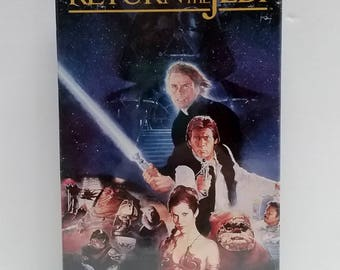 Star Wars Return of the Jedi VHS Cassette, SEALED