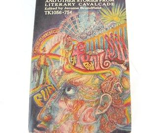 A night in funland paperback book 1969 Creepy Scarey Books Adventure Book Suspense Book Action Book