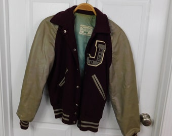 1950's 60's Vintage High School Band Member Varsity Lettermans Jacket or Coat