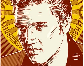 Elvis Presley, Elvis Presley poster, Elvis Presley wall art, Elvis Presley art print, Elvis Presley art, Wall decor, Gift, Home decor
