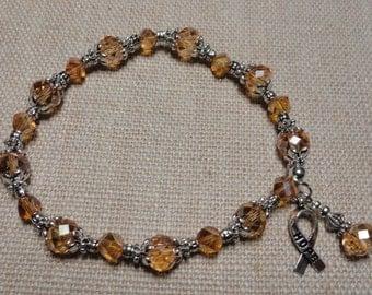 129 Appendix Cancer Awareness Bracelet