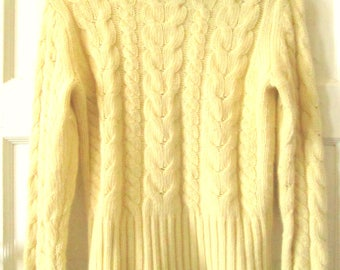 Banana Republic Lambswool Angora Turtleneck Sweater S