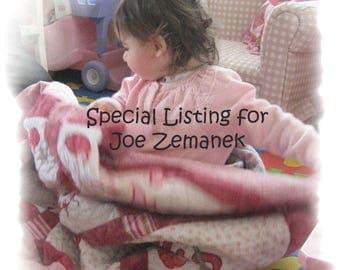 Special Order for Joe Zemanek