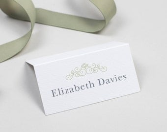 Eva Wedding Name Place Card