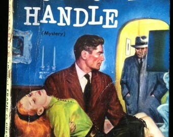 Vintage Paperback Dell 593 Too Hot To Handle by Frank Presnell 1951 VG-