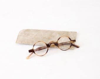 TURTUR - Eyeglasses - Arminho collection - handmade in portugal - round brown