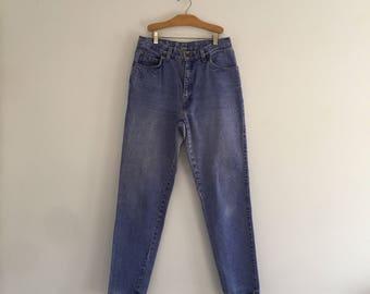 Vintage 80's Levi's Native Blue Jeans / High Waist Stonewash M 30