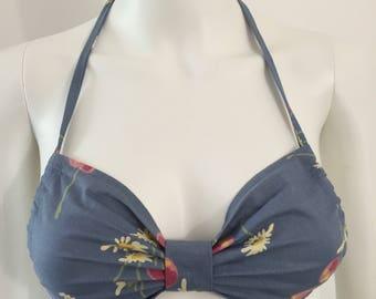 Rare 1960's Biba Floral Bikini