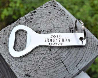 Personalized bottle opener, Groomsmen bottle opener, groomsmen gift,  groomsman gift,  best man gift, gifts for him, wedding party gifts