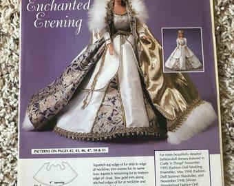 Some Enchanted Evening Fancy Barbie Doll Dress Pattern