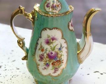 Rococo Revival Tea Pot