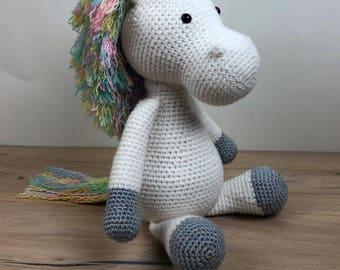 Crochet Unicorn Toy Plush Unicorn Amigurumi Unicorn Stuffed Unicorn Doll Crochet Unicorn Gift Crochet Unicorn Animal