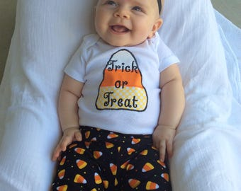Halloween Baby Outfit, Baby Halloween Outfit, First Halloween Outfit, Baby Girl Halloween Outfit
