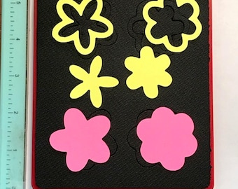 Sizzix Flowers #1 Charms 38-1050  - Cleaned and Tested (No Storage Case)