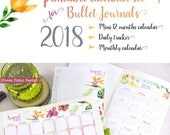 2018 Calendar Printable S...