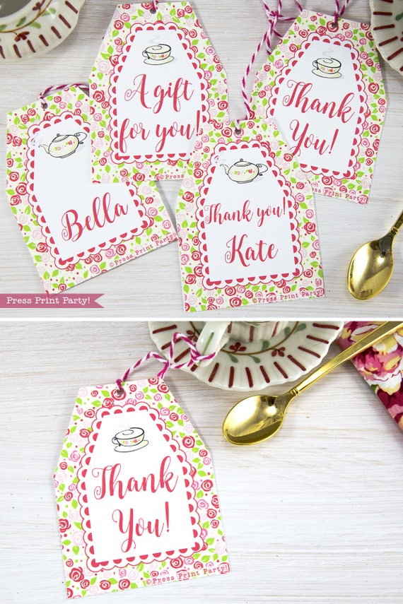 It's just a photo of Insane Printable Party Favor Tags