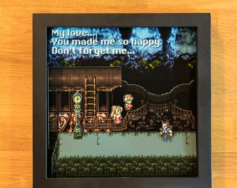 Final Fantasy VI - SNES Shadowbox - Ghost Train