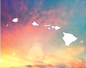 Island Sticker Etsy - Custom vinyl decals hawaii