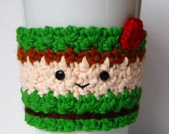 Crochet Peter Pan Coffee Cup Cozy