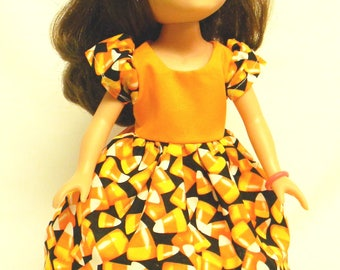 Halloween Outfit For 14.5 Inch Doll Like The Wellie Wishers