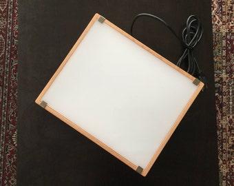 Light table/ Light box - wood