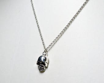 Final Fantasy XV Inspired Ignis Scientia Skull Necklace - Version A