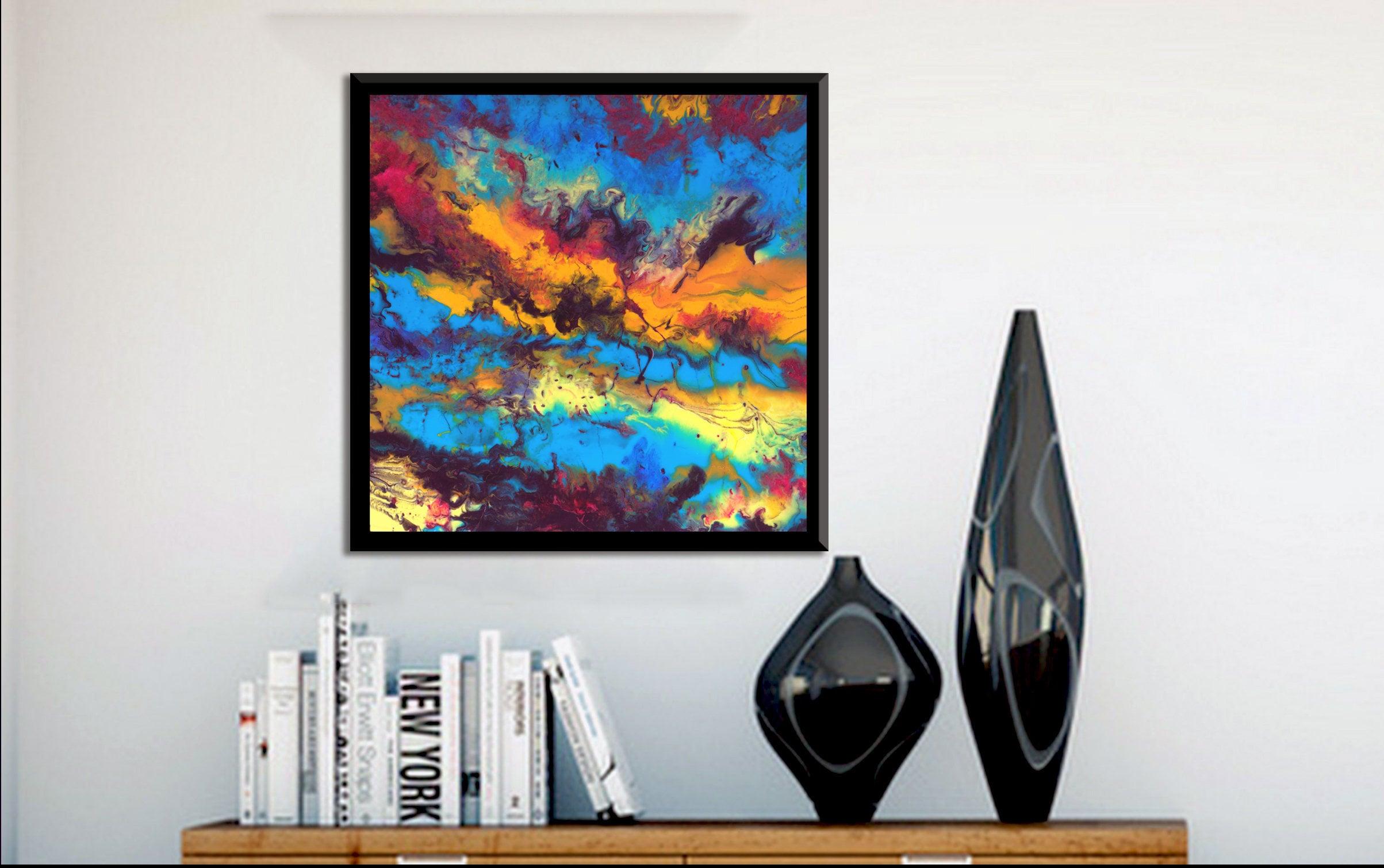 Wall art painting modern -  Zoom