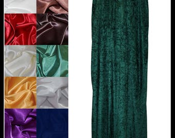 Dark Green Crushed Velvet Cloak lined with a Shimmer Satin of your choice. Ideal for LARP LRP Medieval Cosplay Costume. NEW!