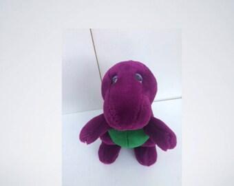 Dakin Barney Purple Dinosaur Backyard Gang Original Dreamy Eyes Plush Toys Stuffed Animal