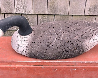 Canada Goose Decoy Feeding L L Bean Coastal George Soule Maine Decoy