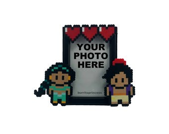 Jasmine and Aladdin Couple Picture Frame - Aladdin Wedding Gift - Aladdin Anniversary Gift - Aladdin Valentine's Day Gift - Birthday Gift