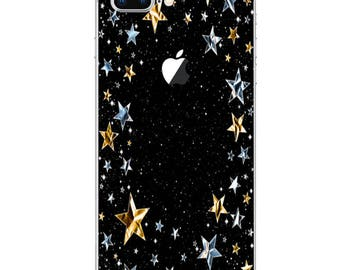 iPhone Decal Sticker Skin for iPhone X iPhone 8 8 Plus iPhone 5 5S SE 6 6S 6S Plus 7 7 Plus Cover Decals Stickers Covers Skins Stars 112