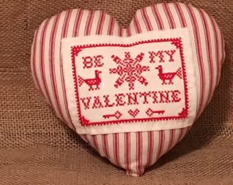 Valentine Heart Shaped Pillow