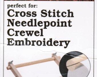 how to use a split rail scroll frame