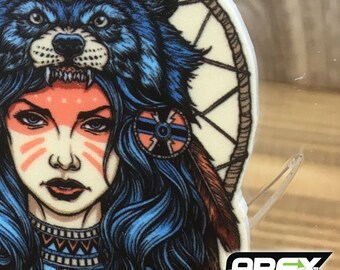The Wolf Girl - Stunning Acrylic Necklace by Ashley @ Pixiebitz!
