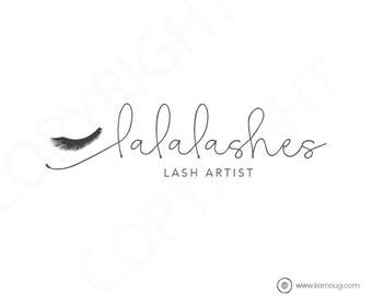 Lash Artist Logo Eyelash Logo Makeup Artist Logo Premade Logo Watermark Logo Business Logo Branding Logo Custom Logo Logos and Watermarks