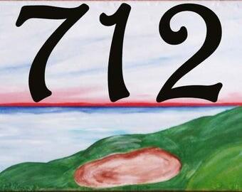 Golf house number plaque, Golf course, Retiree gift, Golfing bag, Women golfers, Hole in one, Birdie, Par, Handicap