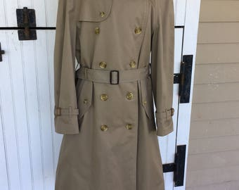 Vintage Burberry Removable Liner Men's or Women's Trench Coat