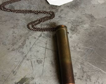 458 Winchester Bullet Necklace