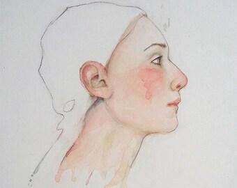 Original watercolor paint