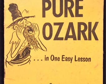 How to Talk Pure Ozark in One Easy Lesson paperback booklet