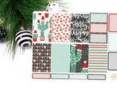 Christmas Sticker Kit Planner - Cactus Christmas - Sticker Kit - Big Happy Planner
