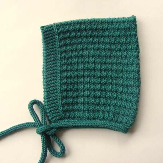Pine Baby Pixie Hat in Botanist Green - Sizes Newborn to Age 4 yrs