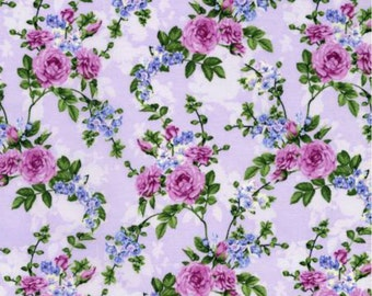 A pretty lavender Melrose fabric from RJR.