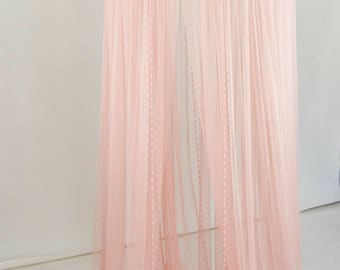 Blush Pink Baldachin -  Play Canopy, Crib Canopy, Kids canopy, Nursery canopy, Bed canopy, Play room canopy, Hanging Canopy, Nook, Photo