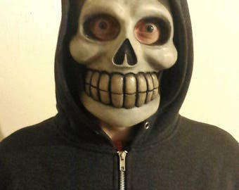 latex skull mask