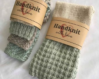 100% Cotton Hand Towel and Face Cloth Set