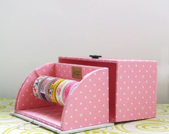 masking tape dispenser handmade ribbon dispenser masking tape organizer